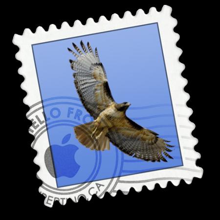 "Photo of Anexos como ""Anexos"" no Mail do OS X"