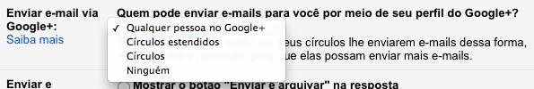 Photo of Como Desabilitar o Envio de Emails via Google+