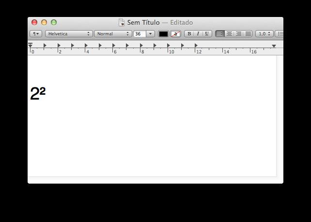 Photo of Como faz o Quadrado no Mac, 2 ao Quadrado, 2²?