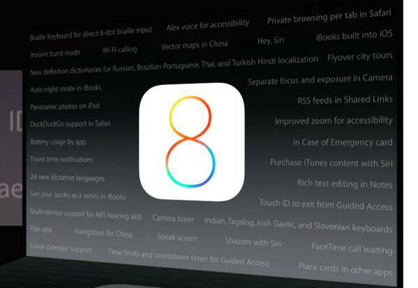 iOS 8: Funcionalidades, inclusive as que a Apple não falou