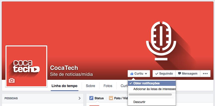 Photo of Como Receber Todas as Atualizações de uma FanPage/Grupo
