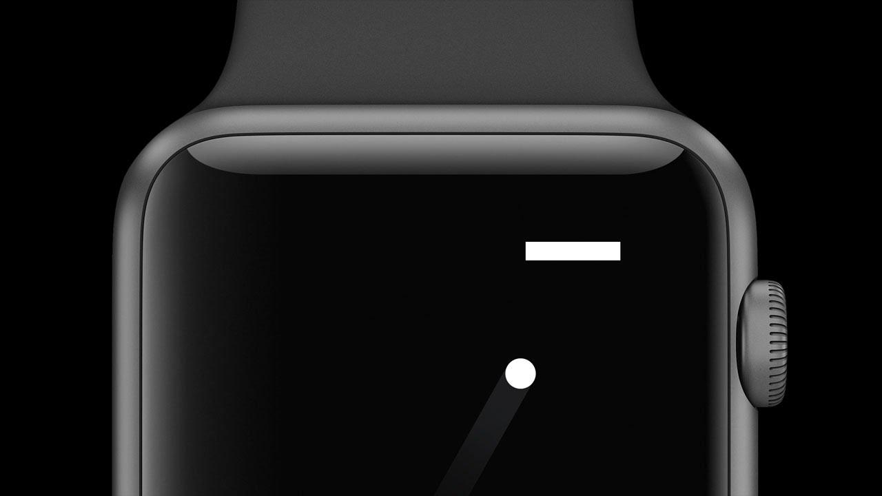 "A Tiny Game of Pong, game ""retro-clássico"" para Apple Watch"