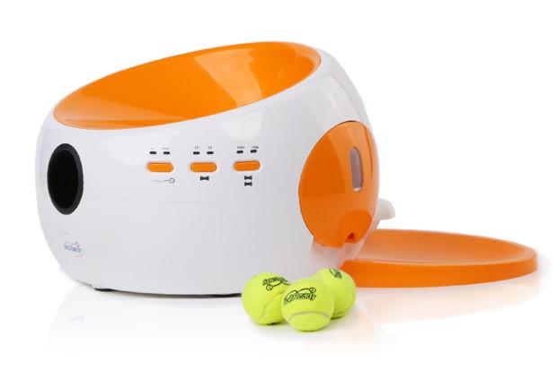 BallReady para alimentar seu cão automaticamente e ainda brincar de bola