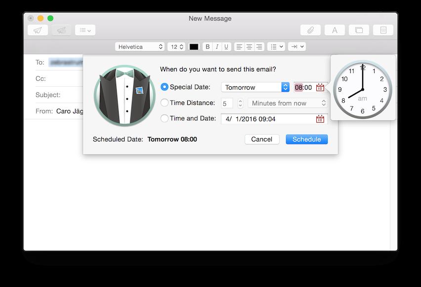 Photo of MailButler, para agendar e-mail no Mail Nativo do OS X
