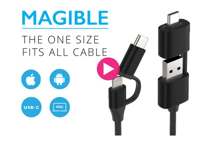 Photo of MAGIBLE, cabo universal para gadgets